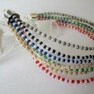 Handmade Festive Multi Strand Bracelet