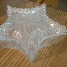 Handcrafted in Romania Crystal Star Shaped Vanity Trinket Box  Romania #00016