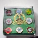Nine Golf Pins from Harrods England in Box #00163