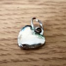 Silver Tone Heart Charm #00135
