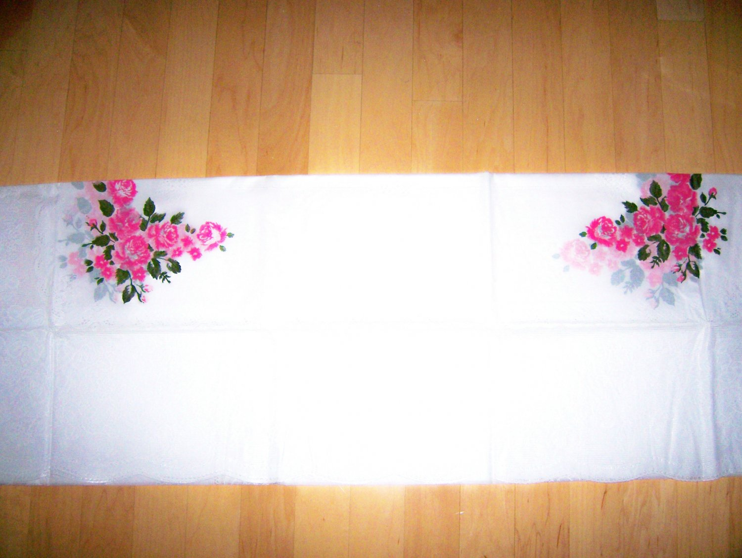 White Lace Table Cloth