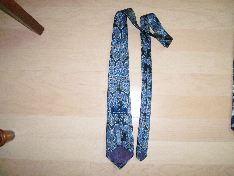 Men's Tie Navy/Purple