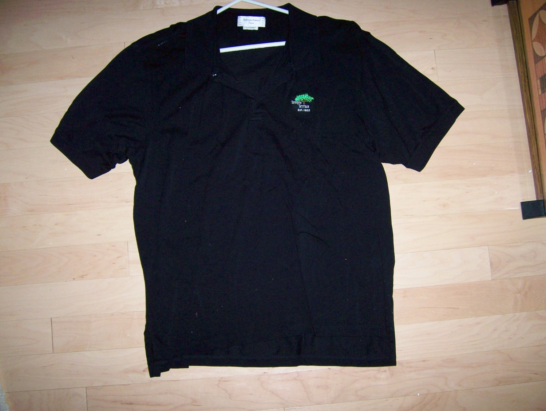 Golf Shirt Black by International Tour XXL  Tall