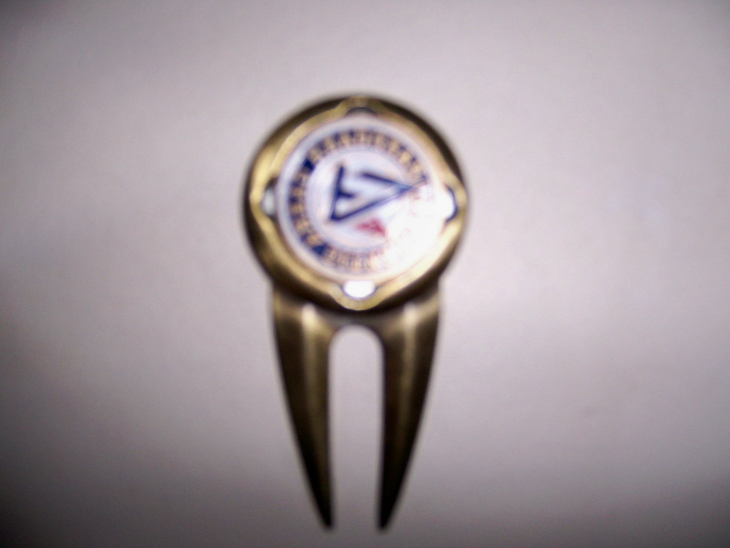 Brass Divet Marker With Ball Marker