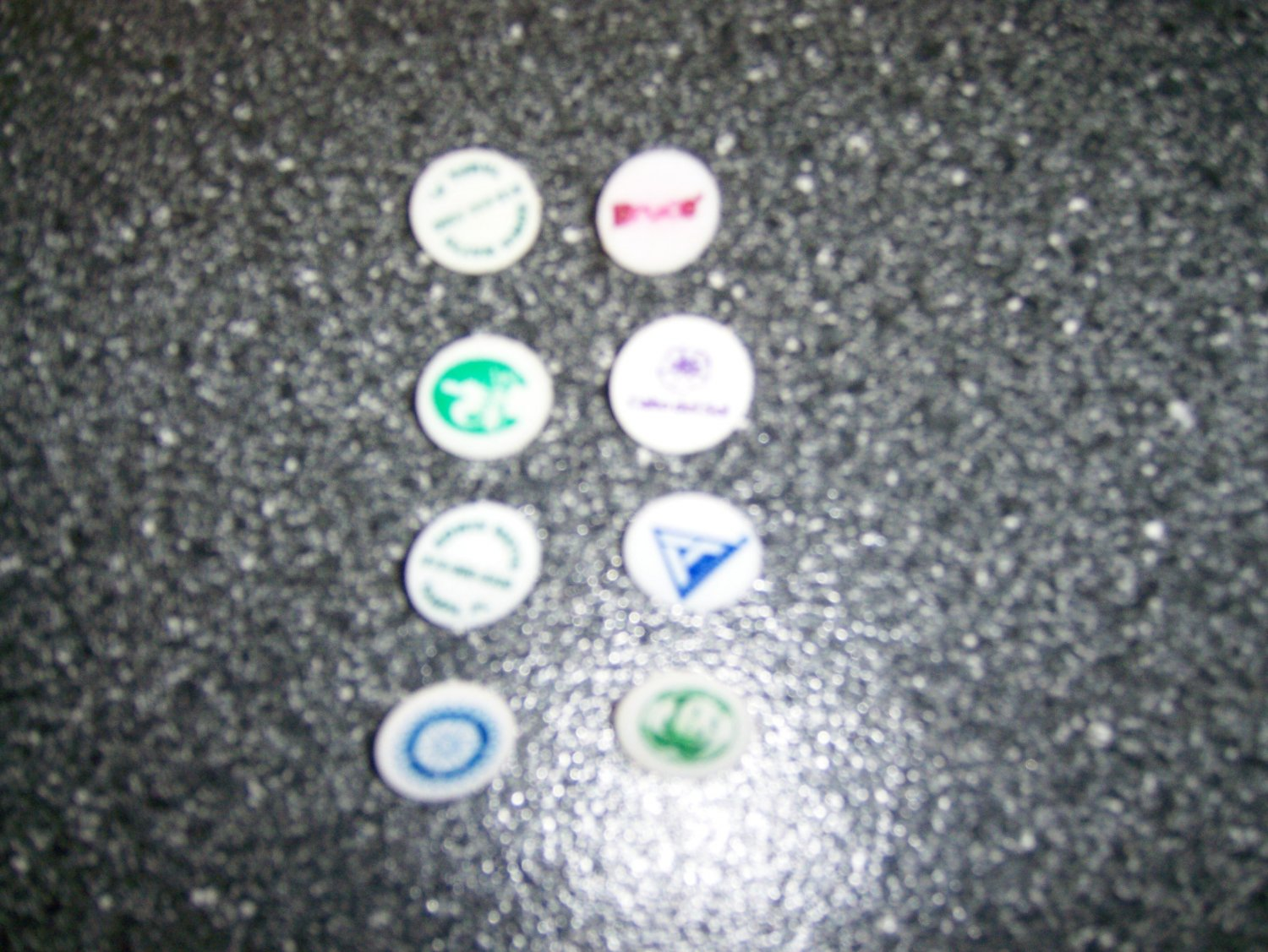 Golf Markers Set Of 8