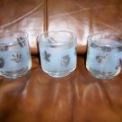 Set Of Two Juice Glasses  8 oz