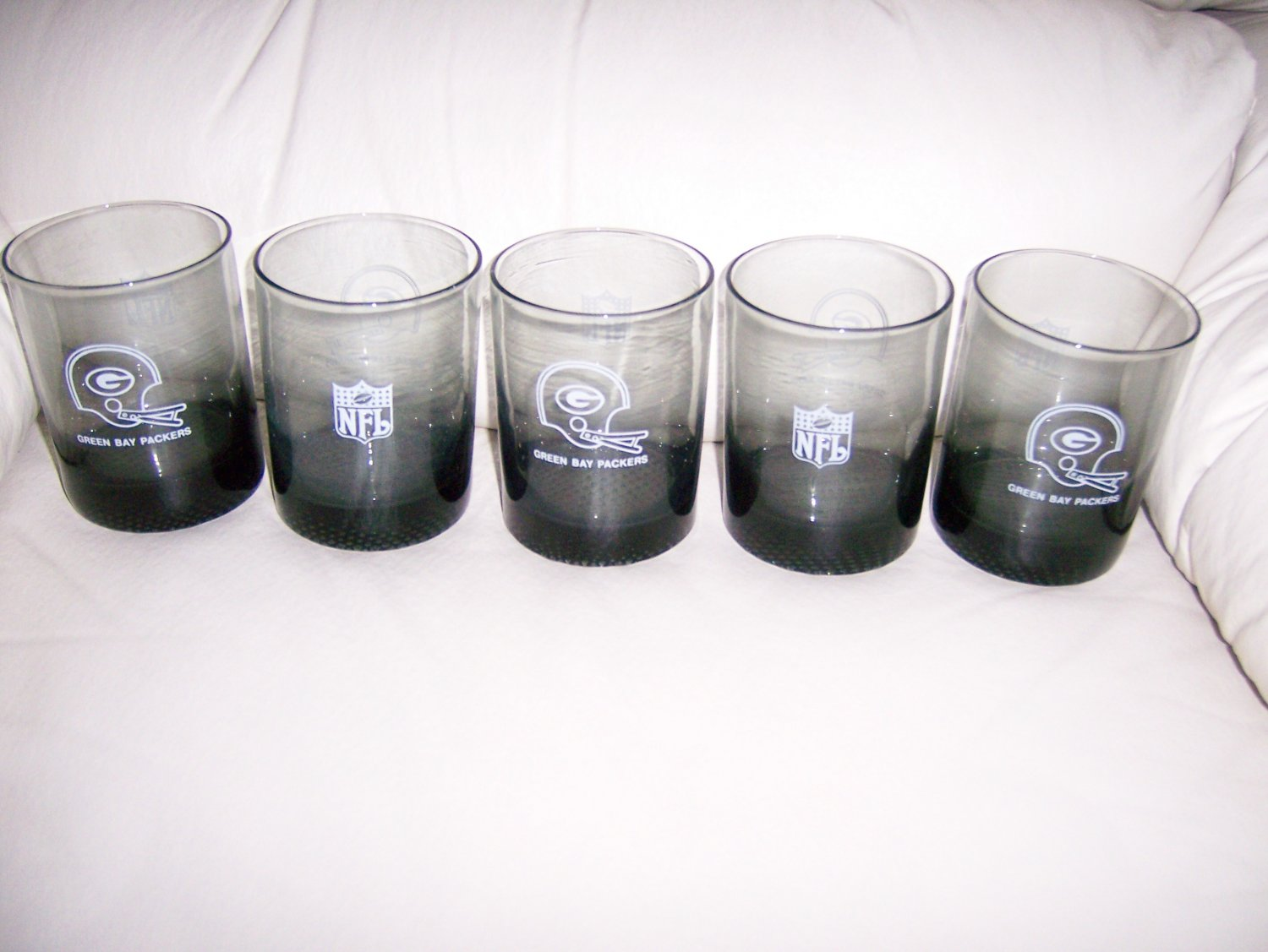 Packer 12 oz Glasses set of Five