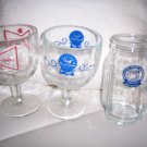 Two Goblets One Stein Beverage Servers BNK134