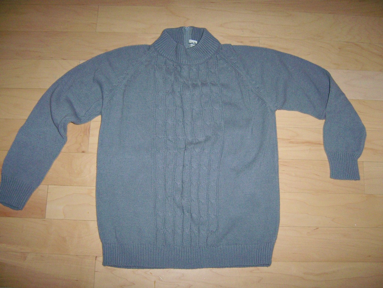 Gray Long Sleeve Sweater Size 34 BNK202