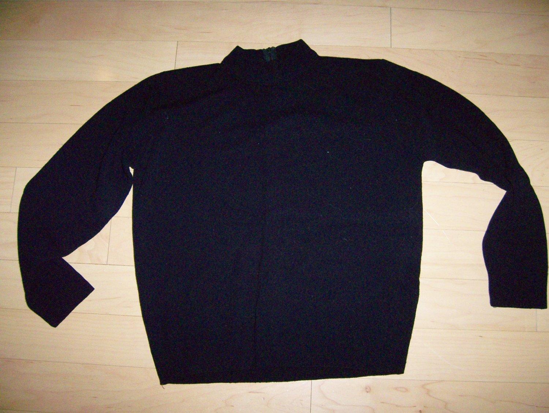 Sweater Long Sleeves Black Size 34 BNK209