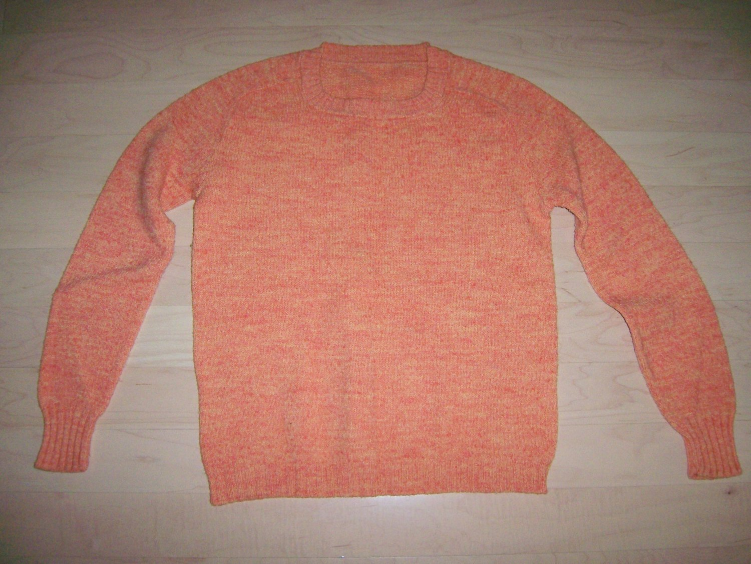Sweater Long Sleeves Orange Size 36