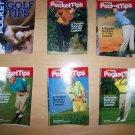 6 Pocket Size Golf Aids BNK229