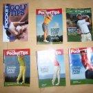 6 Pocket Sized Book Golf Tips BNK231