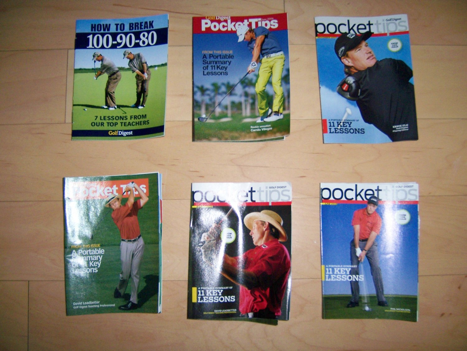 6 Pocket Sized Golf Booklets To Aid Your Game BNK232