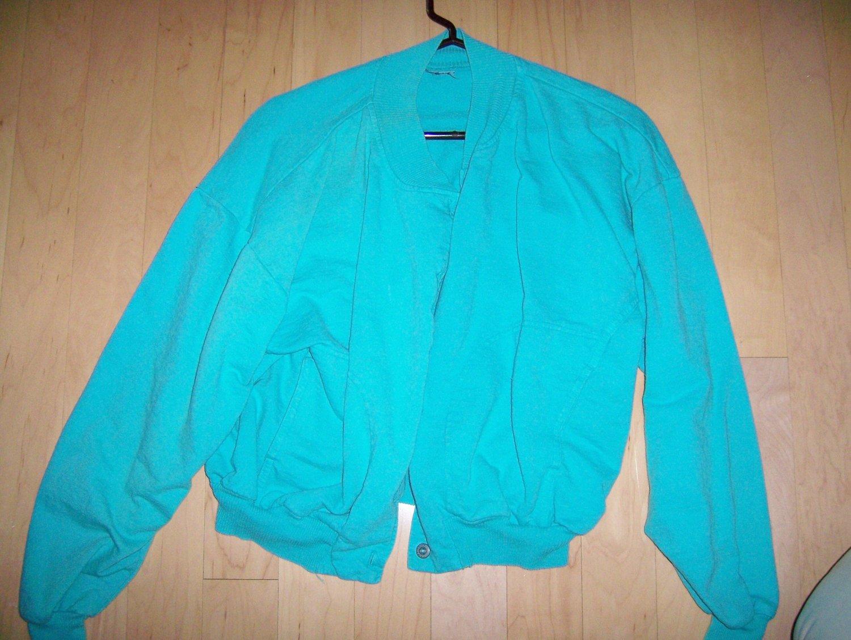 LAdies/Misses Aqua Jacket  L BNK245