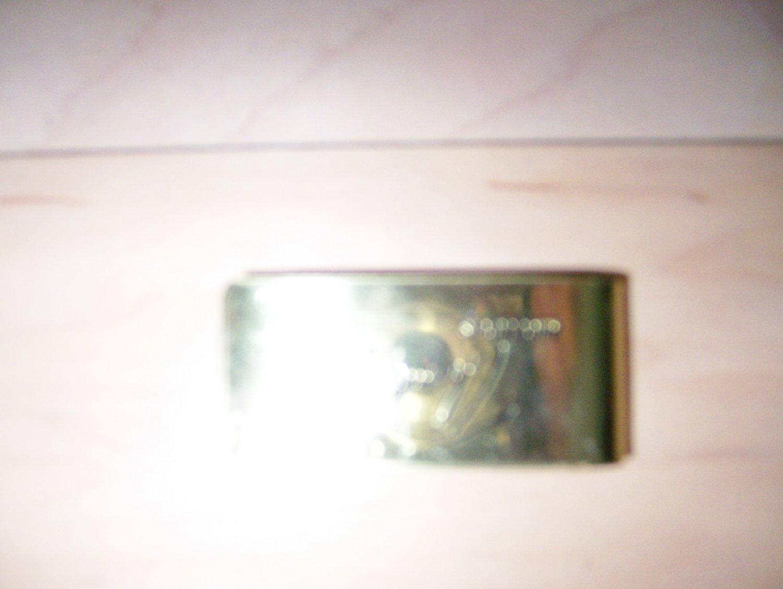 Money Clip Gold Toned BNK253