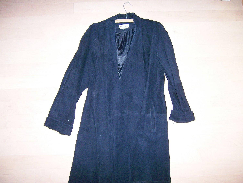 Suede Like Coat Size 12 BNK259