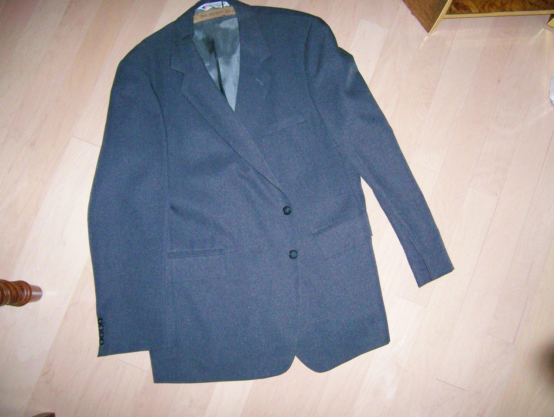 Sports Coat/Blazer Gray Size 44 Long BNK268