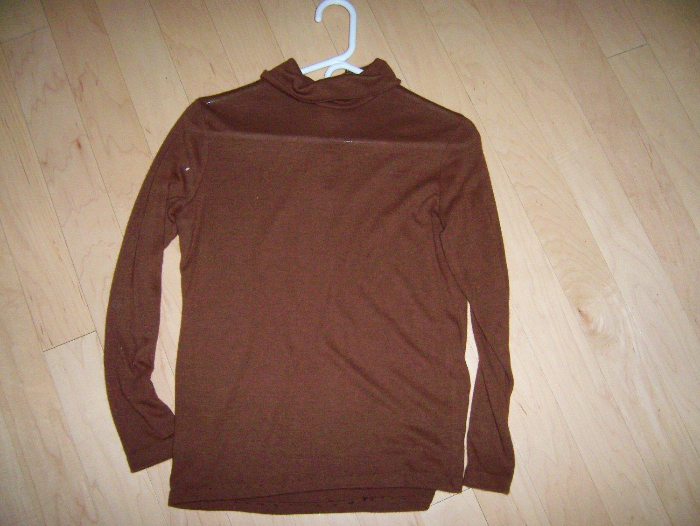 Misses/Ladies Brown Long Sleeve Sweater BNK285