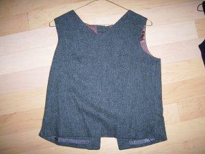 Ladies Vest Gray Flannel Size 10 BNK327