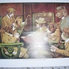 Dogs Playing Poker On Train Ride BNK465