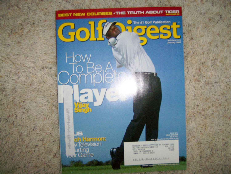 Golf Digest Magazine Jan 2005  BNK591