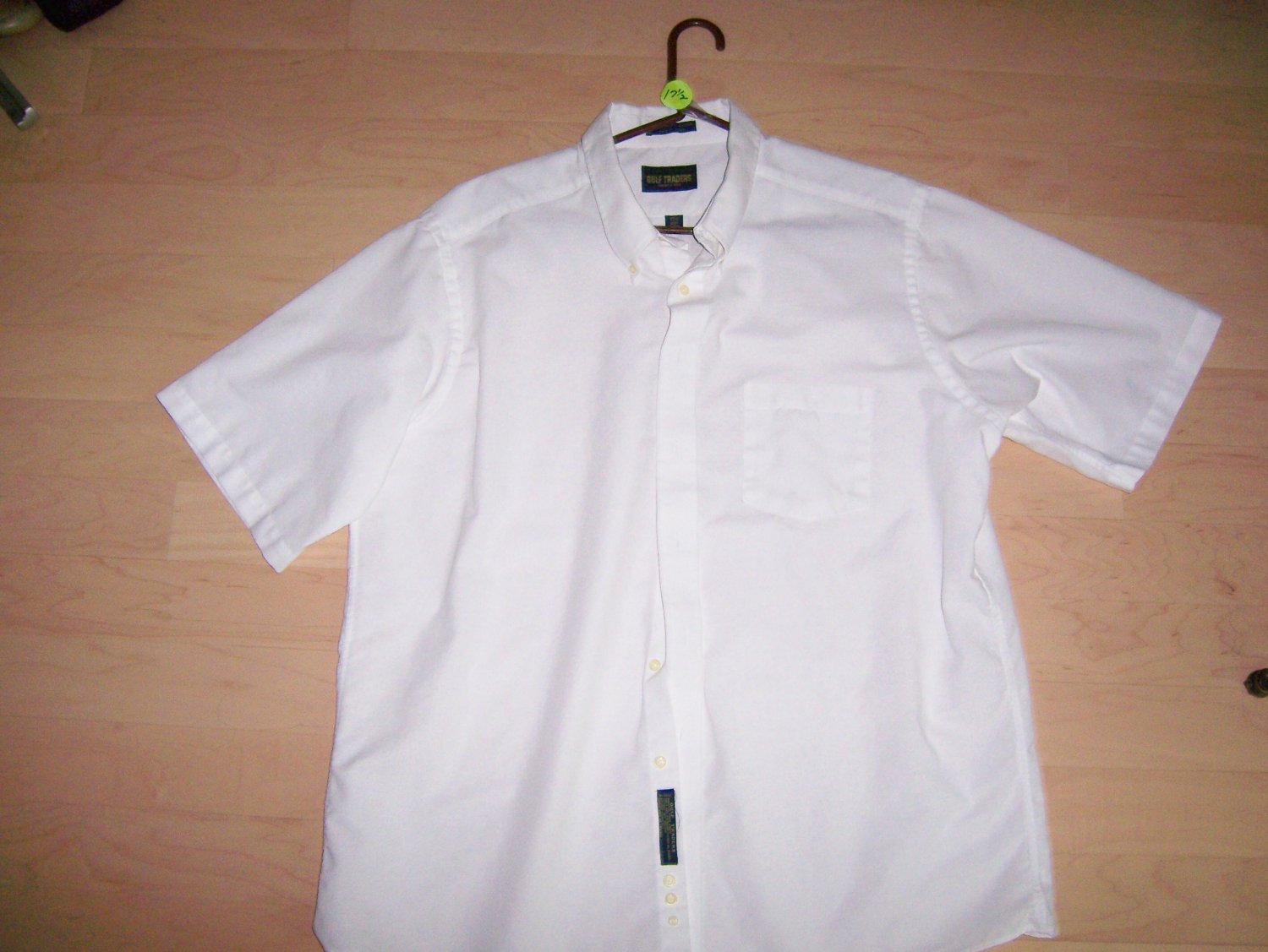 Men's Short Sleeve Shirt by Golf Trader  17 1/2 BNK593