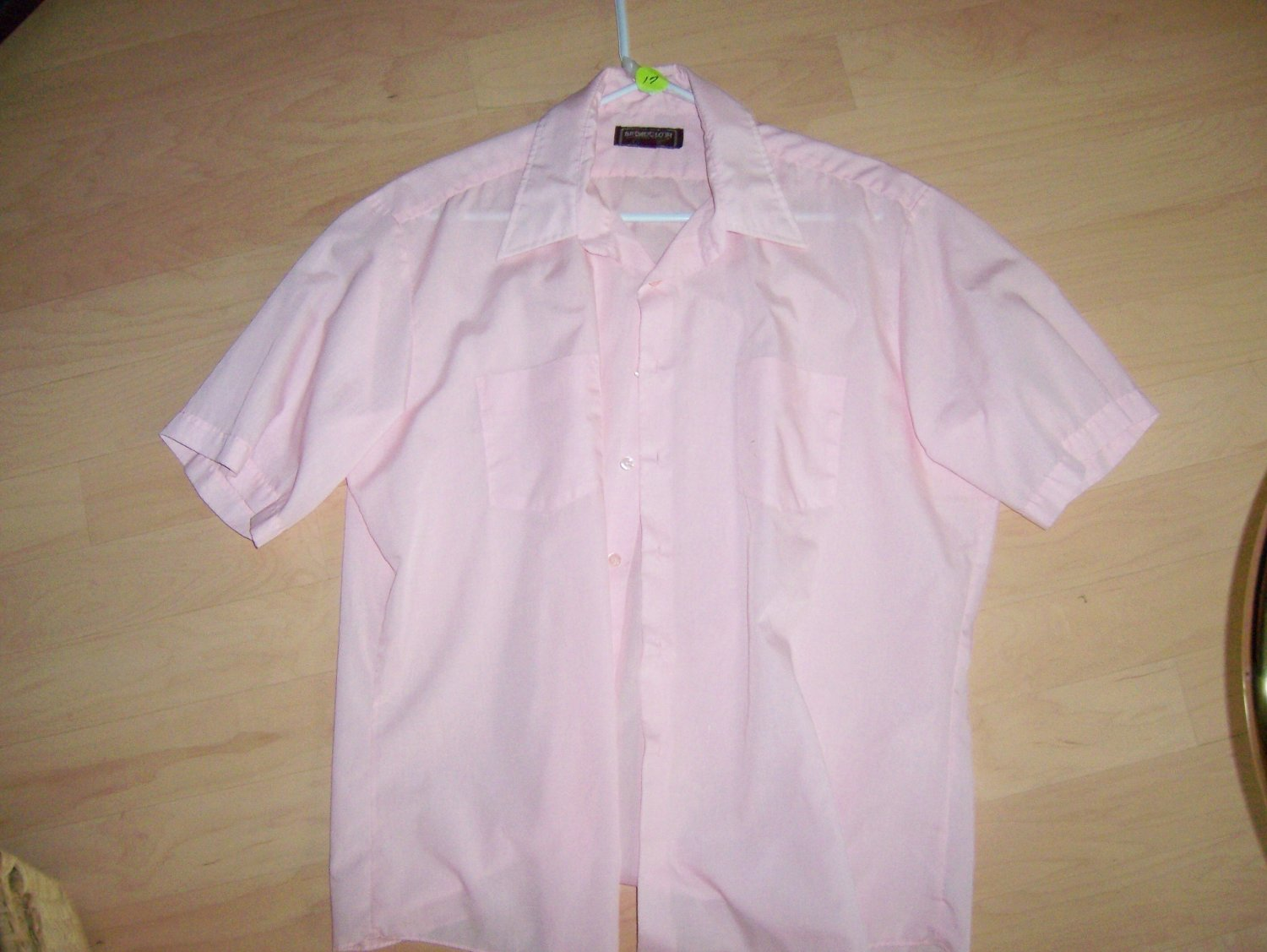 Men's Short Sleeve Shirt By Broadcloth BNK600