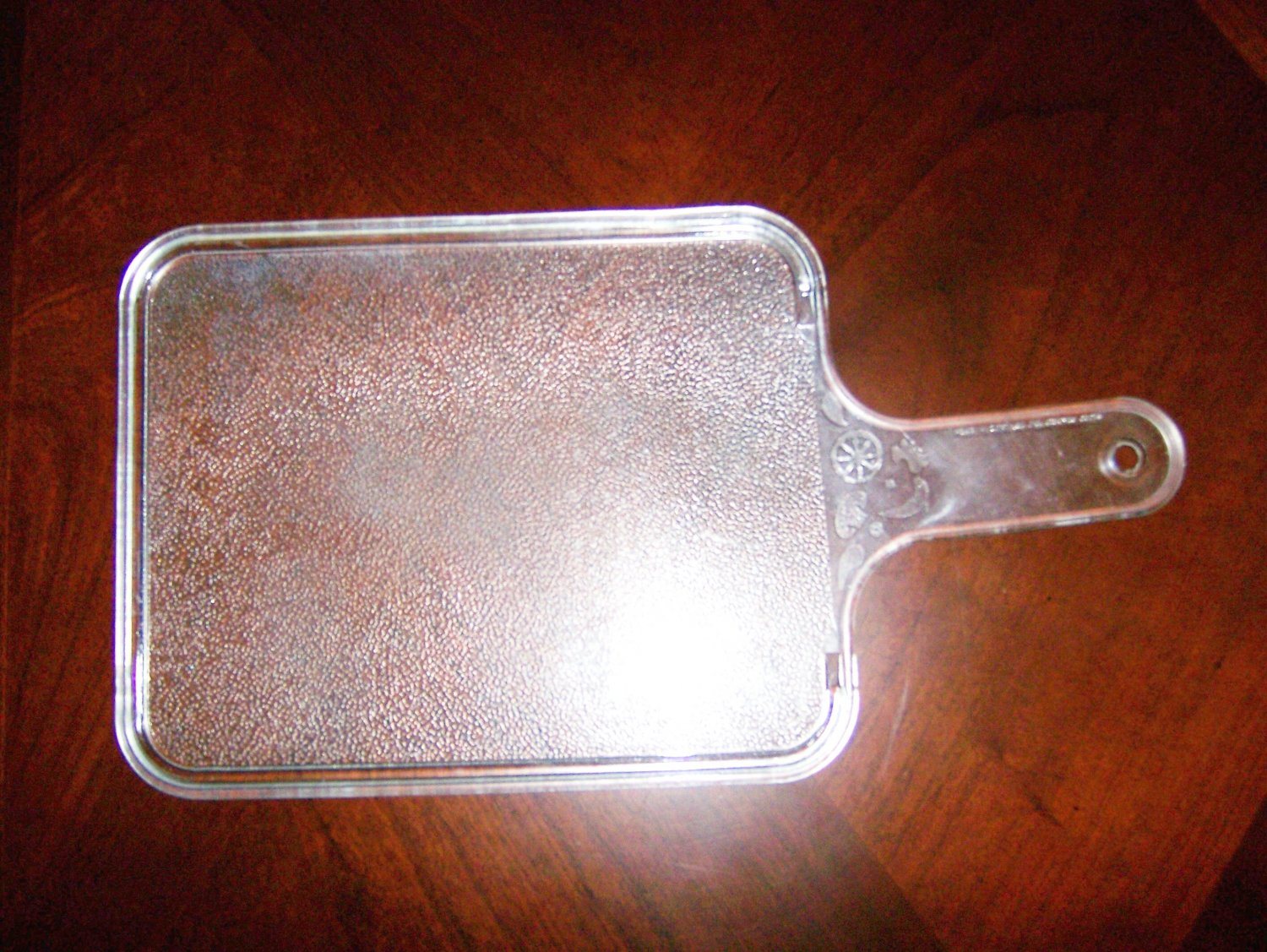 Cutting Board Clear With Handle BNK632