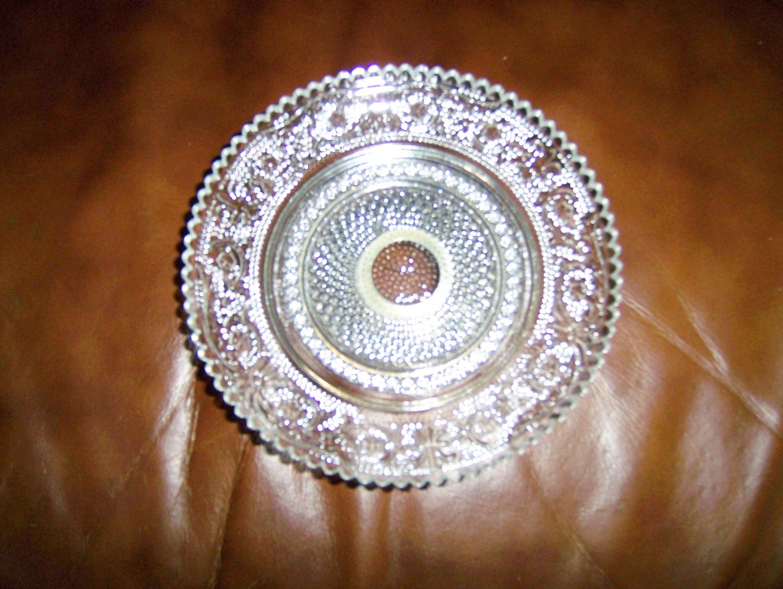 "Serving Plate on Silver Pedistal 6""  BNK660"