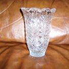 "Decorated Glass 7"" Vase BNK665"