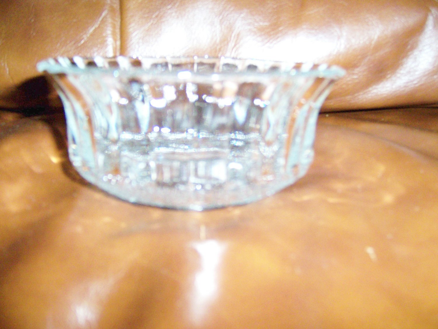 Decorated Glass Serving Bowl BNK670