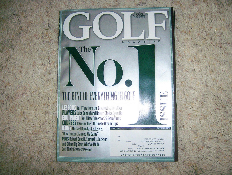 Golf Magazine Oct 2011 BNK706