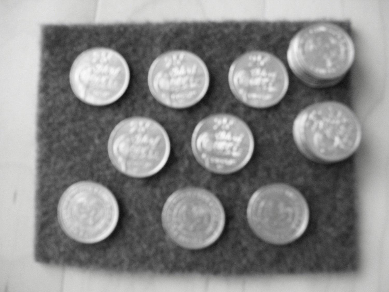 25 Cent Tokens Isle Of Capri Biloxi Ms. BNK722