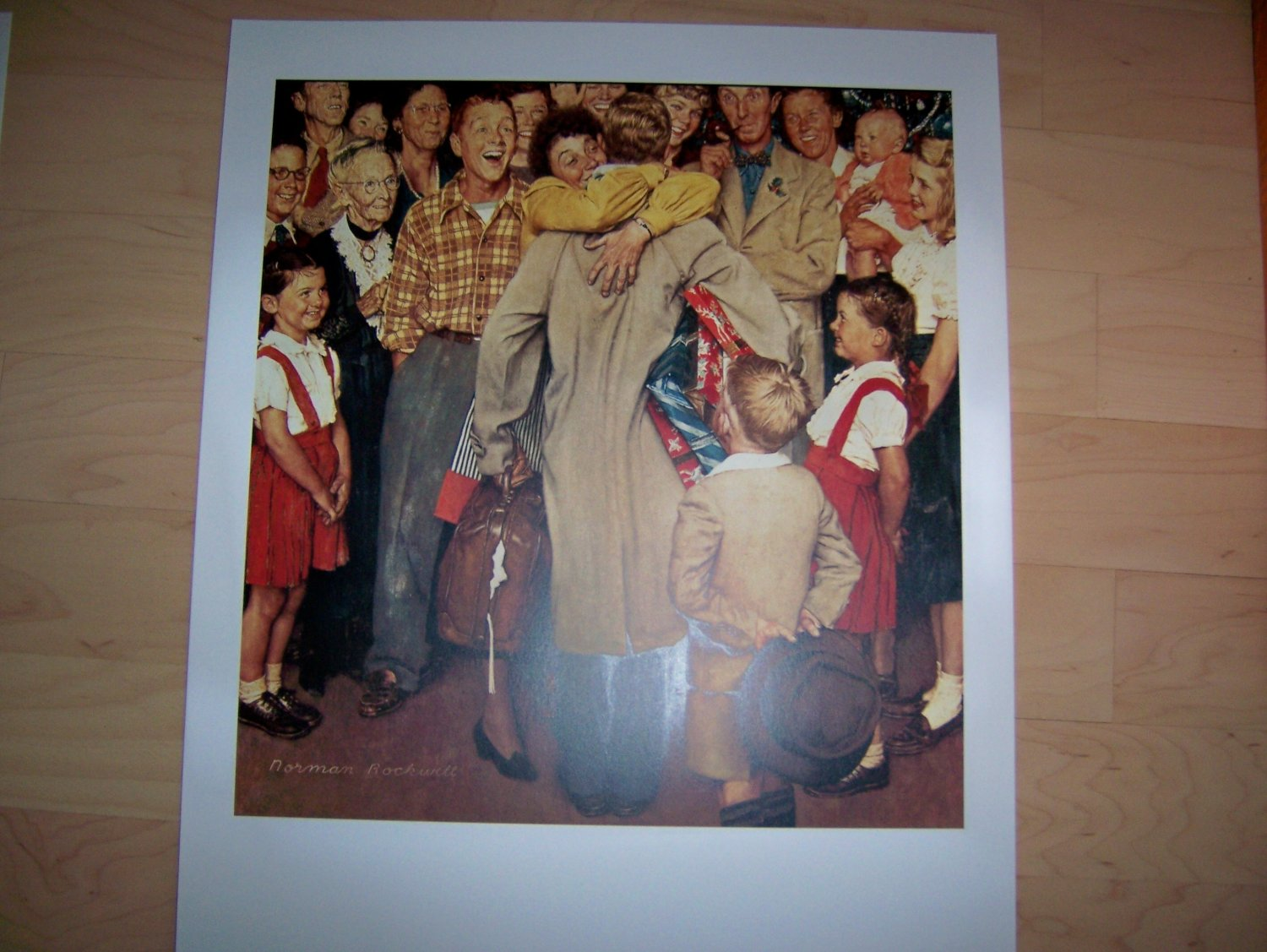 Norman Rockwell's The Homecoming  BNK726
