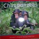 """All About Animals """"Chimpanzees"""" Illustrated Hardcover Books BNK744"""
