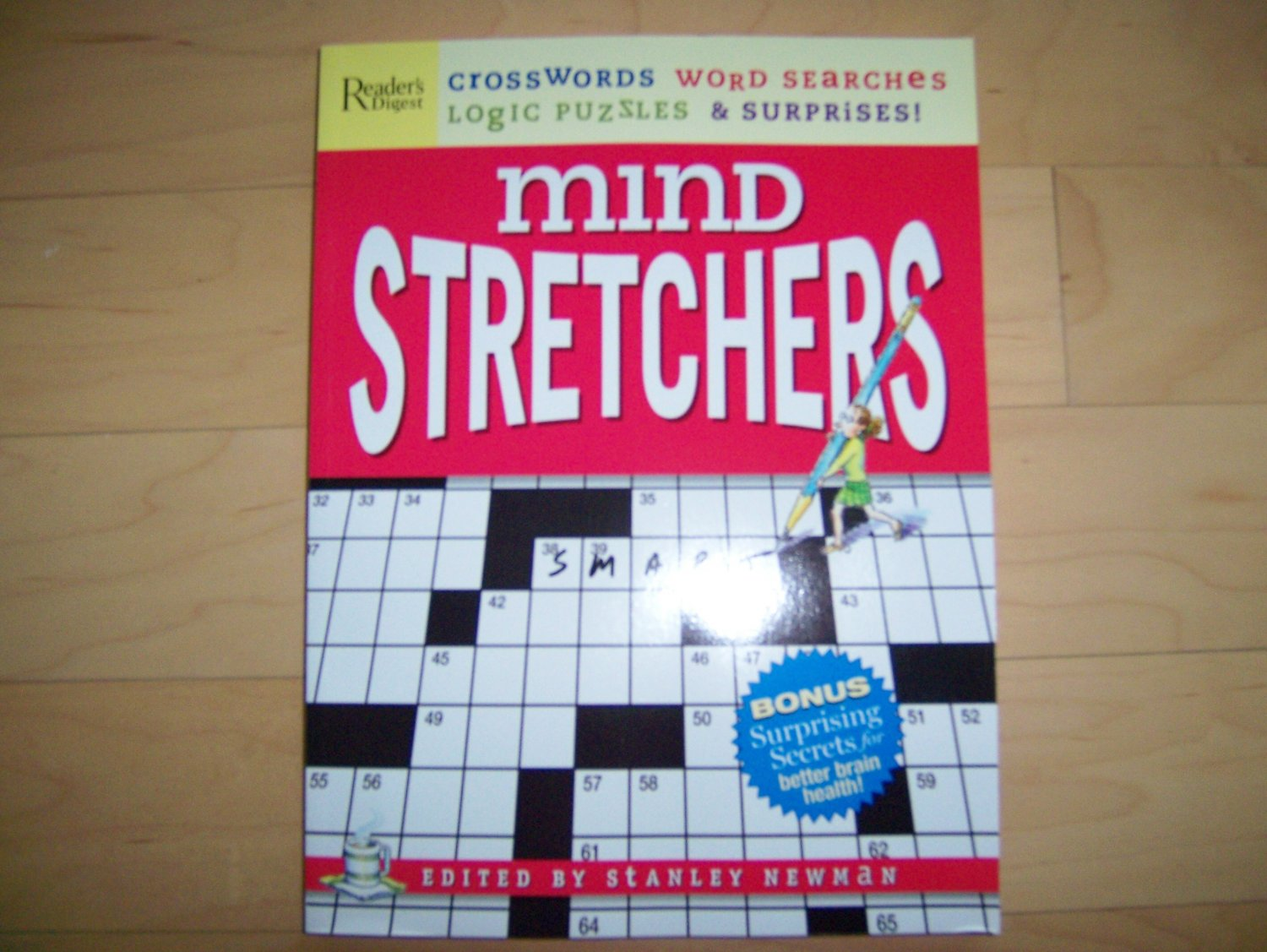 Mind Stretchers Crosswords & Word Searches Book BNK747