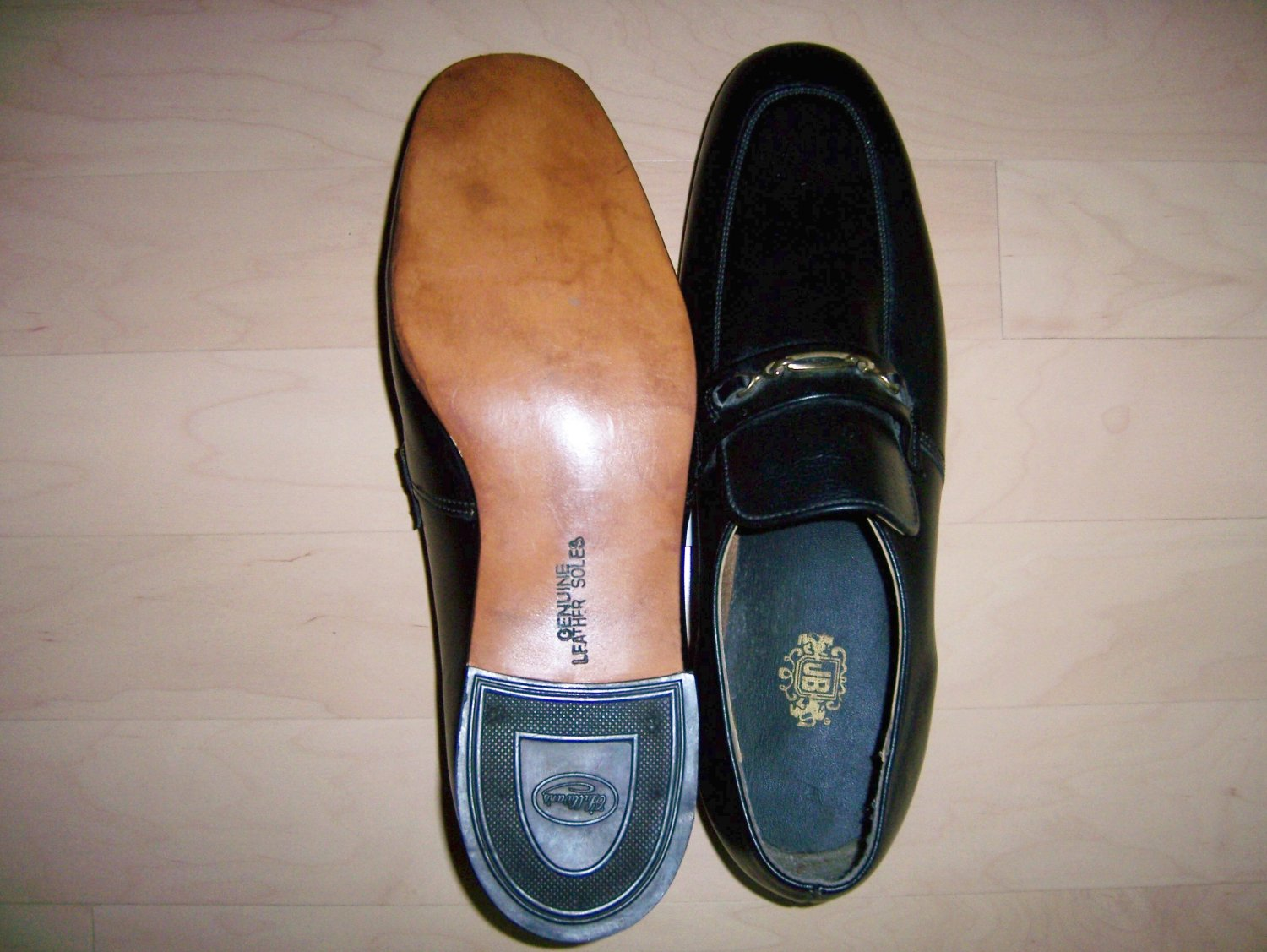 Black Loafers 13W John Blair BNK751