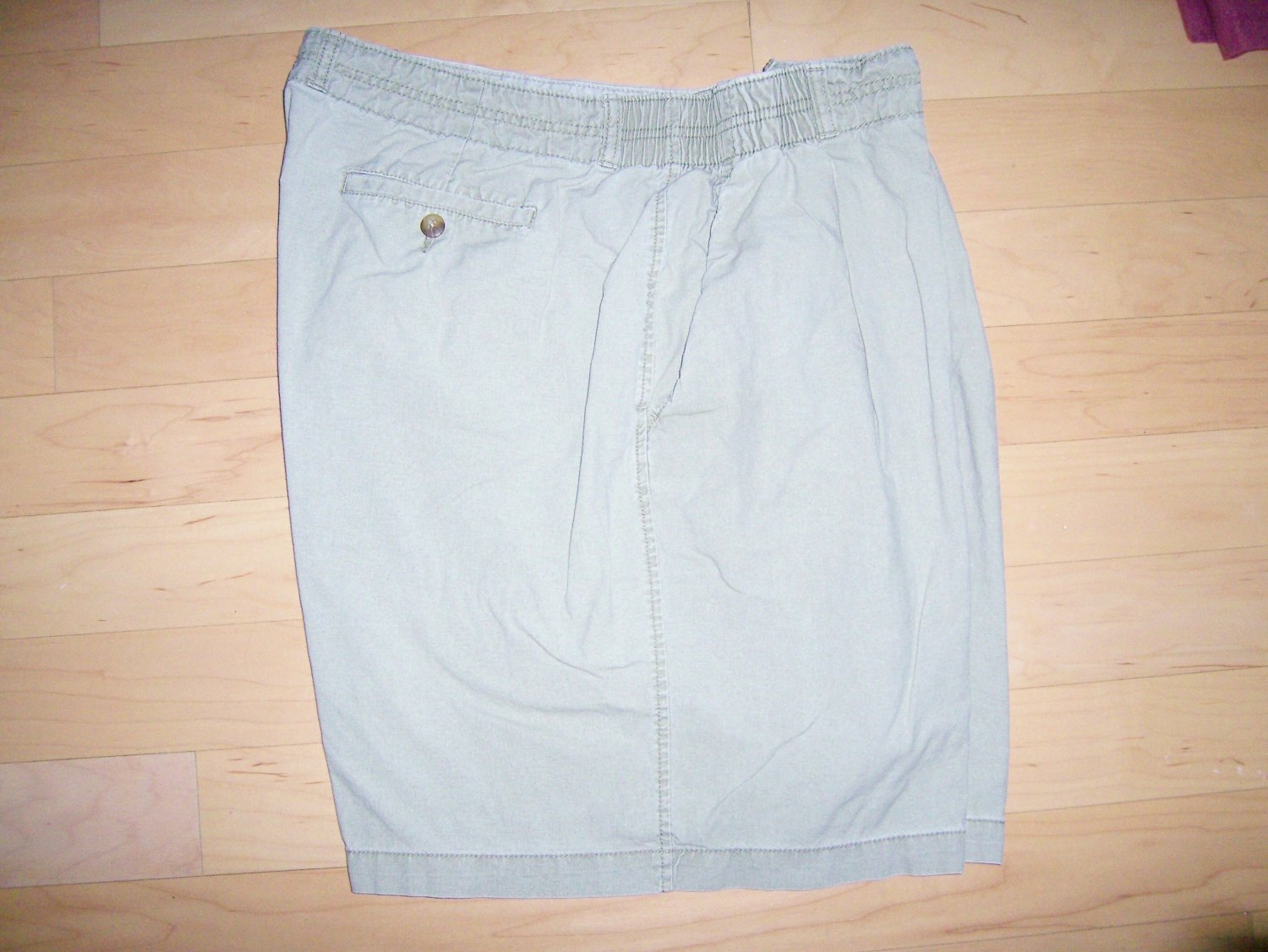 Men's Shorts Grey With Elastic On Sides by Boca Classics BNK757