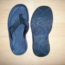 Sandals Black Rubber L.L.Bean Size 7M BNK762
