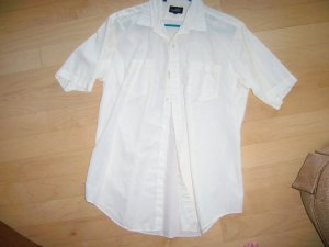 Men's Short Sleeve Shirt by Aldo Romano 16 1/2 BNK767