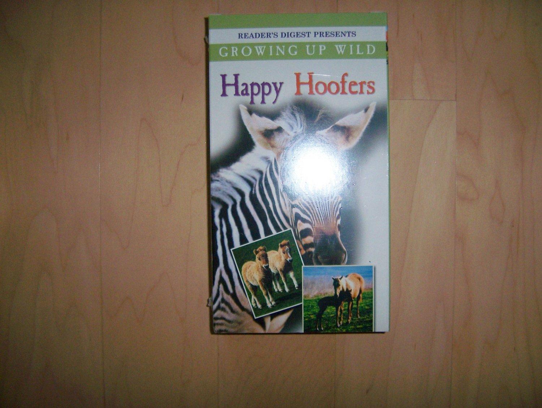 VHS Happy Hoofers Growing Up Wild BNK774