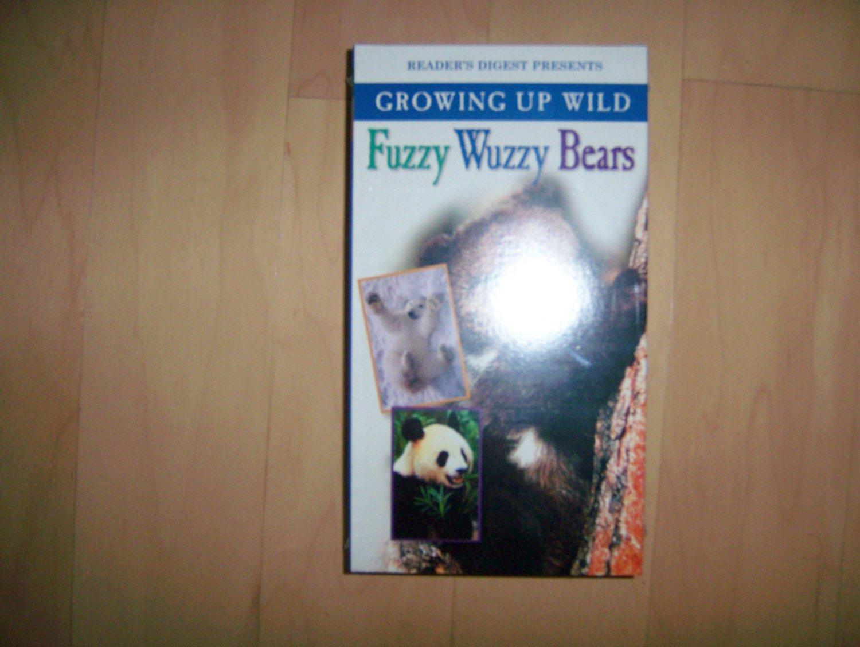 VHS Fuzzy Wuzzy Bears Growing Up Wild BNK776
