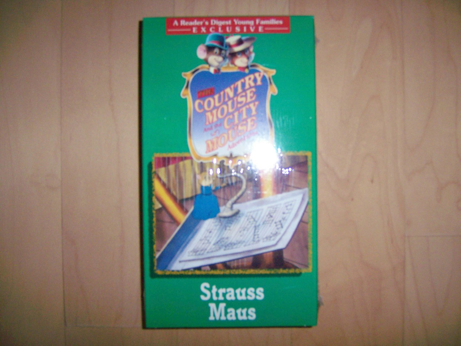 VHS Country & City Mouse Strauss Maus BNK781