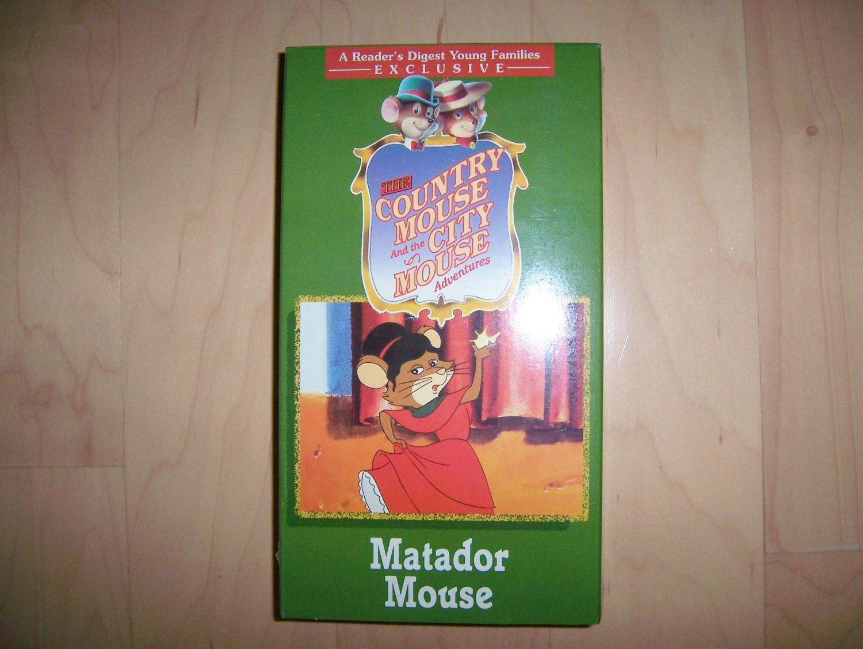 VHS Country & City Mouse Matador Mouse BNK782
