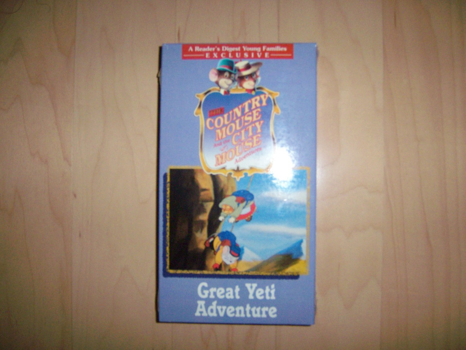 VHS Country & City Mouse Great Yeti Adventure BNK786