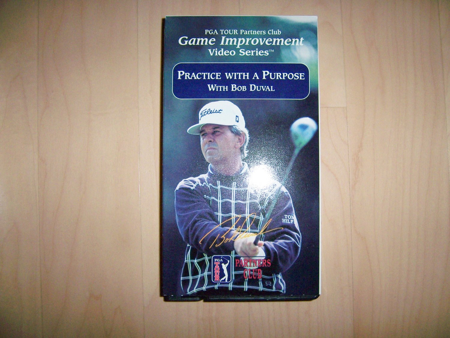 VHS Golf Practice With A Purpose w Bob Duval BNK793