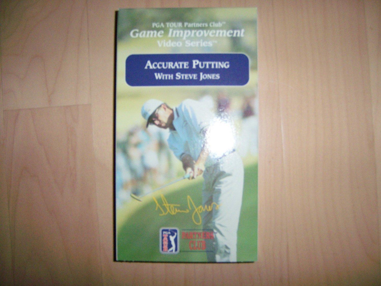 VHS Golf PGA Accurate Putting w Steve Jones BNK794