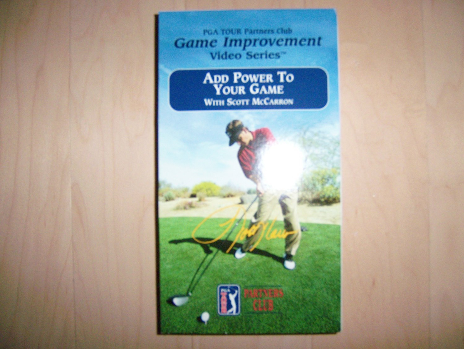 VHS PGA Add Power To Your Games BNK795