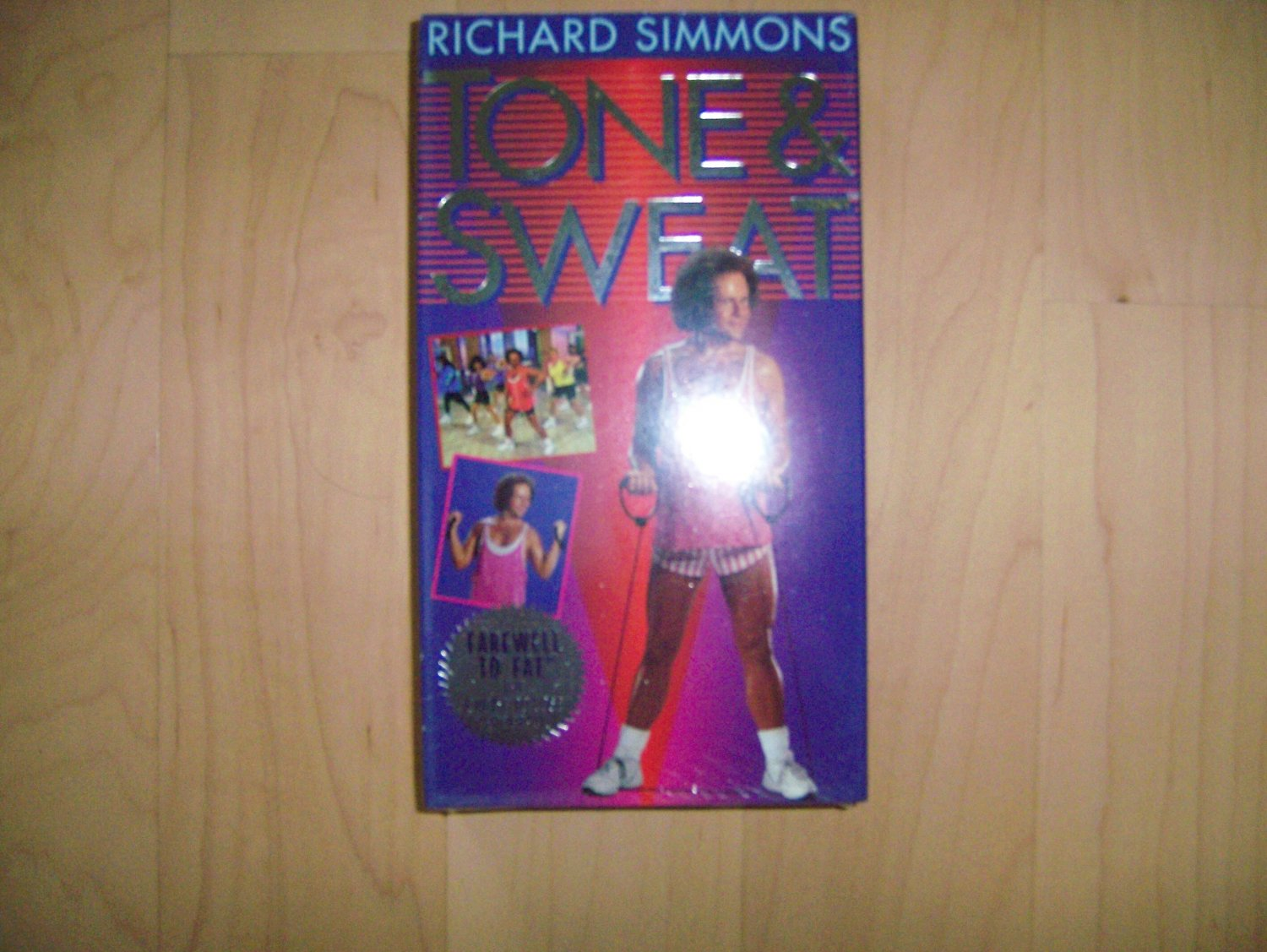VHS Tone & Sweat With Richard Simmons BNK807